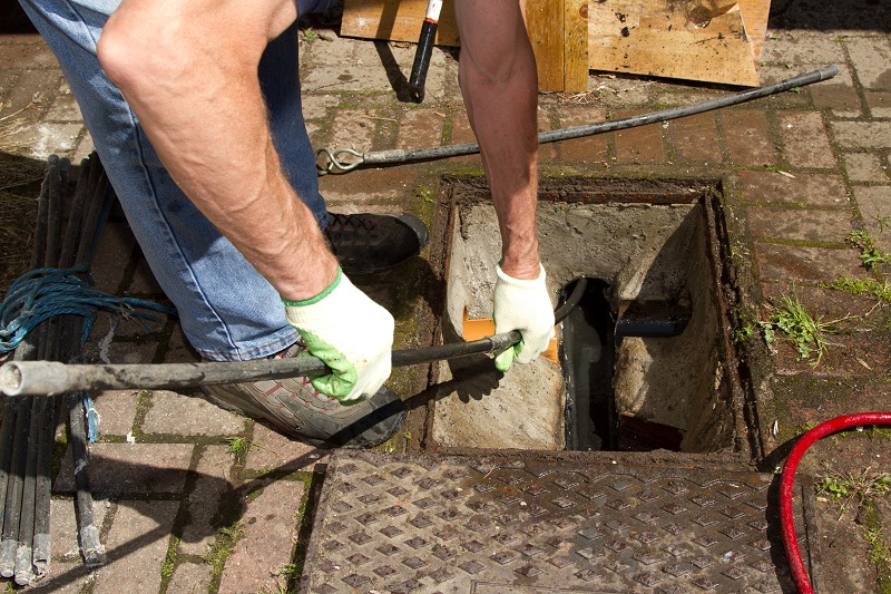 sewage backup in bathroom clogged pipes