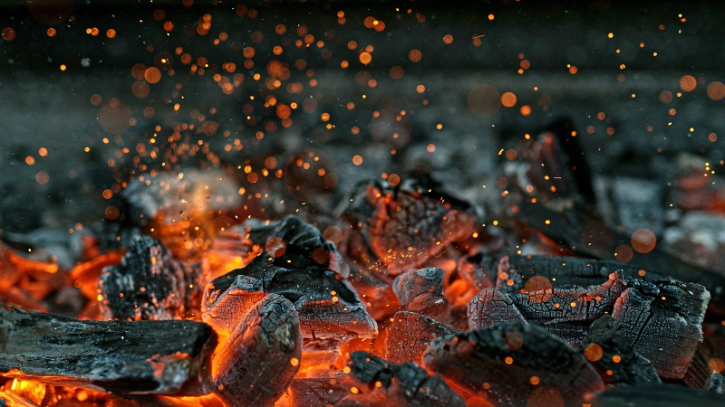 asphalt damage can be caused by a fire pit